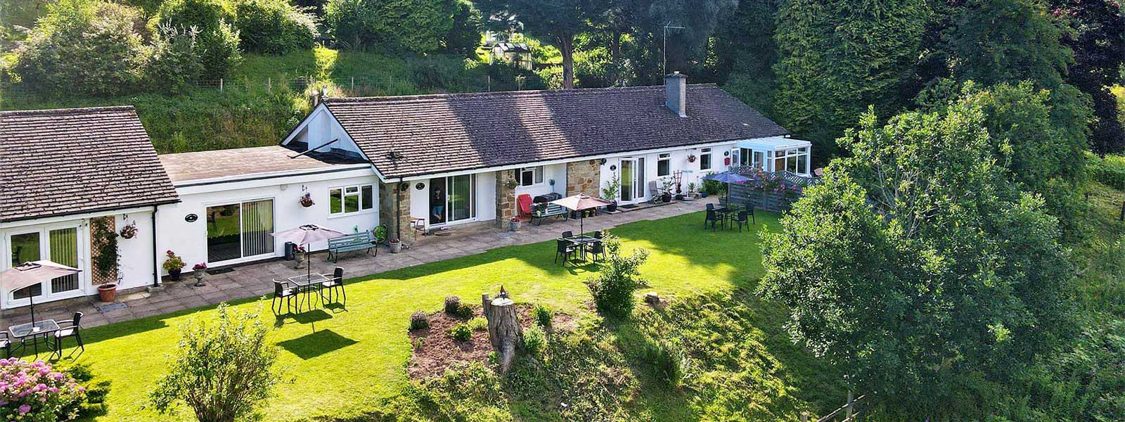 Paddocks Cottages  - Self catering holidays in Symonds Yat in the Wye Valley